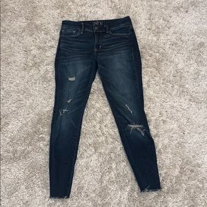 Abercrombie & Fitch Almost New Harper Ankle Jeans
